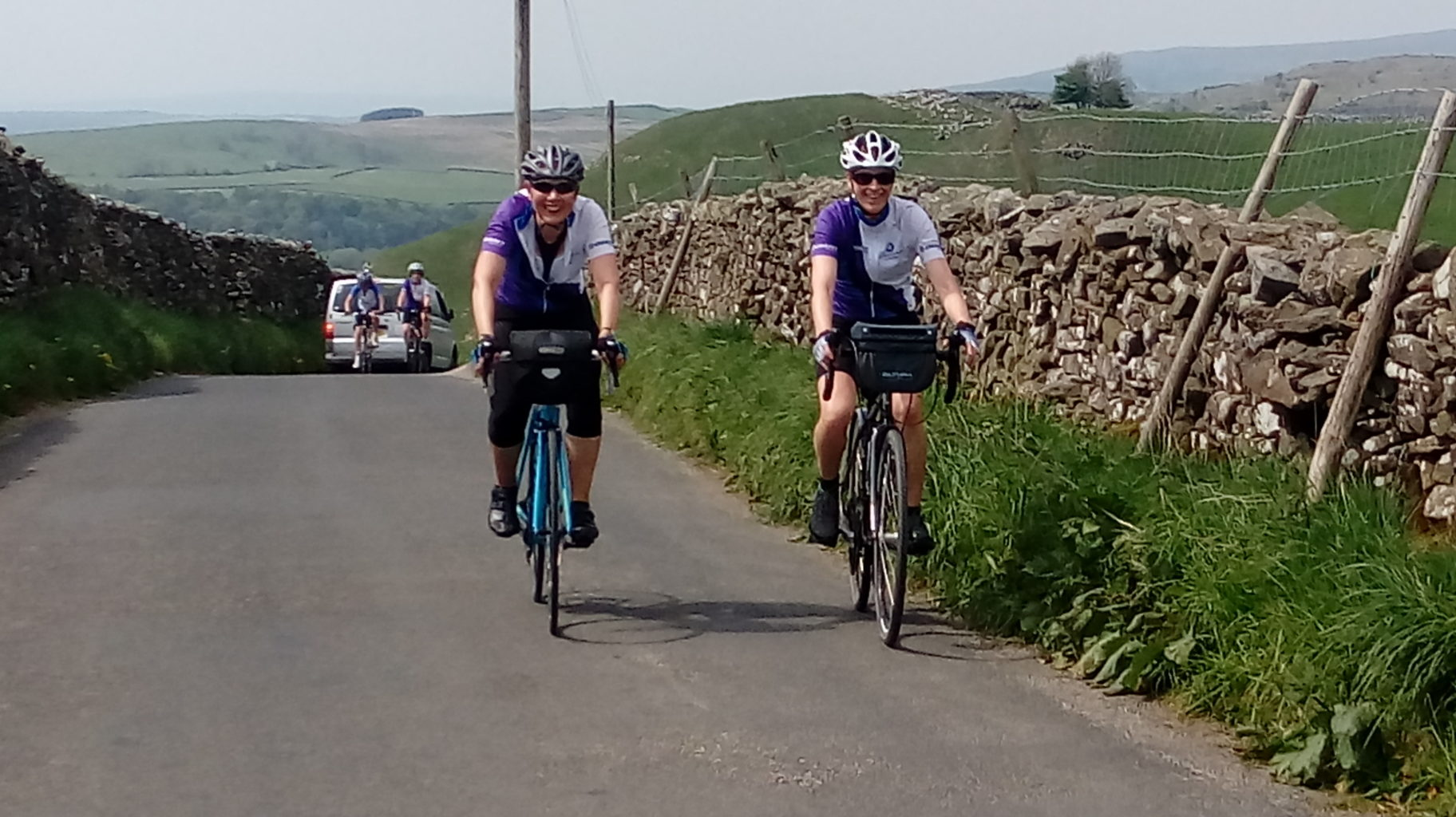 Join our weekend rides from Sheffield all year round