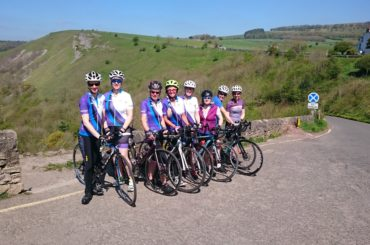 Womens Cycling Club YRCC at Monsal Head