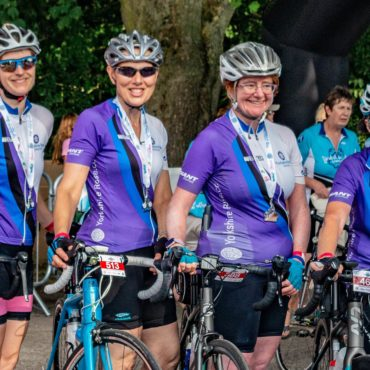 Varied rides… from steady 15 miles to 100 mile sportives
