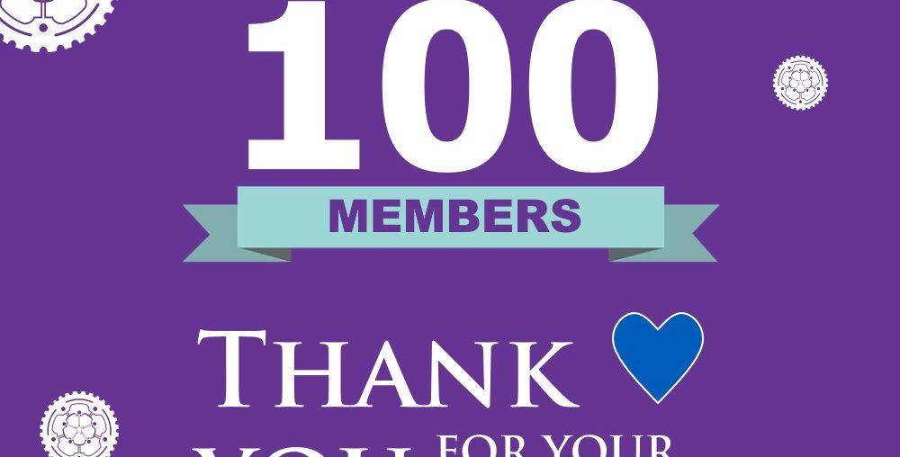 YRCC 100 members